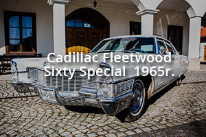 Cadillac do ślubu